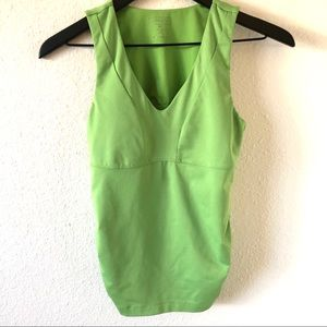 Athleta racerback tank with cup support